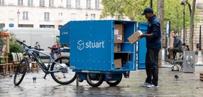 Stuart teste un entrepôt mobile avec la mairie de Paris XVe